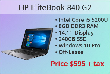 HP EliteBook 840 G2 Off Lease
